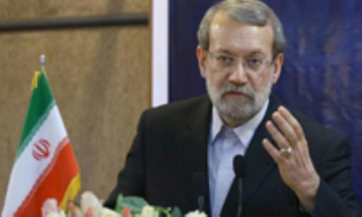 لاریجانی : با اهرم فشار نمی توان حقوق ملت ها را پایمال کرد