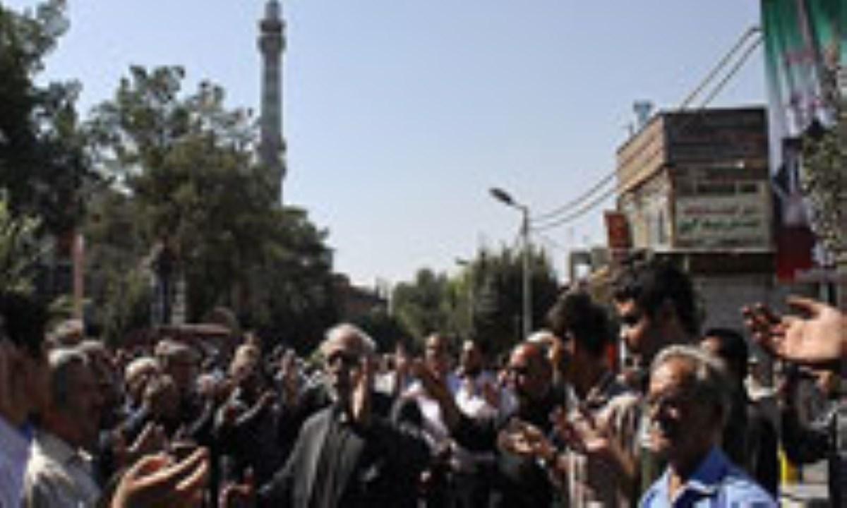 گزارش تصویری/ مراسم عزاداری سالروز وفات حضرت عبدالعظیم حسنی(ع) در ری