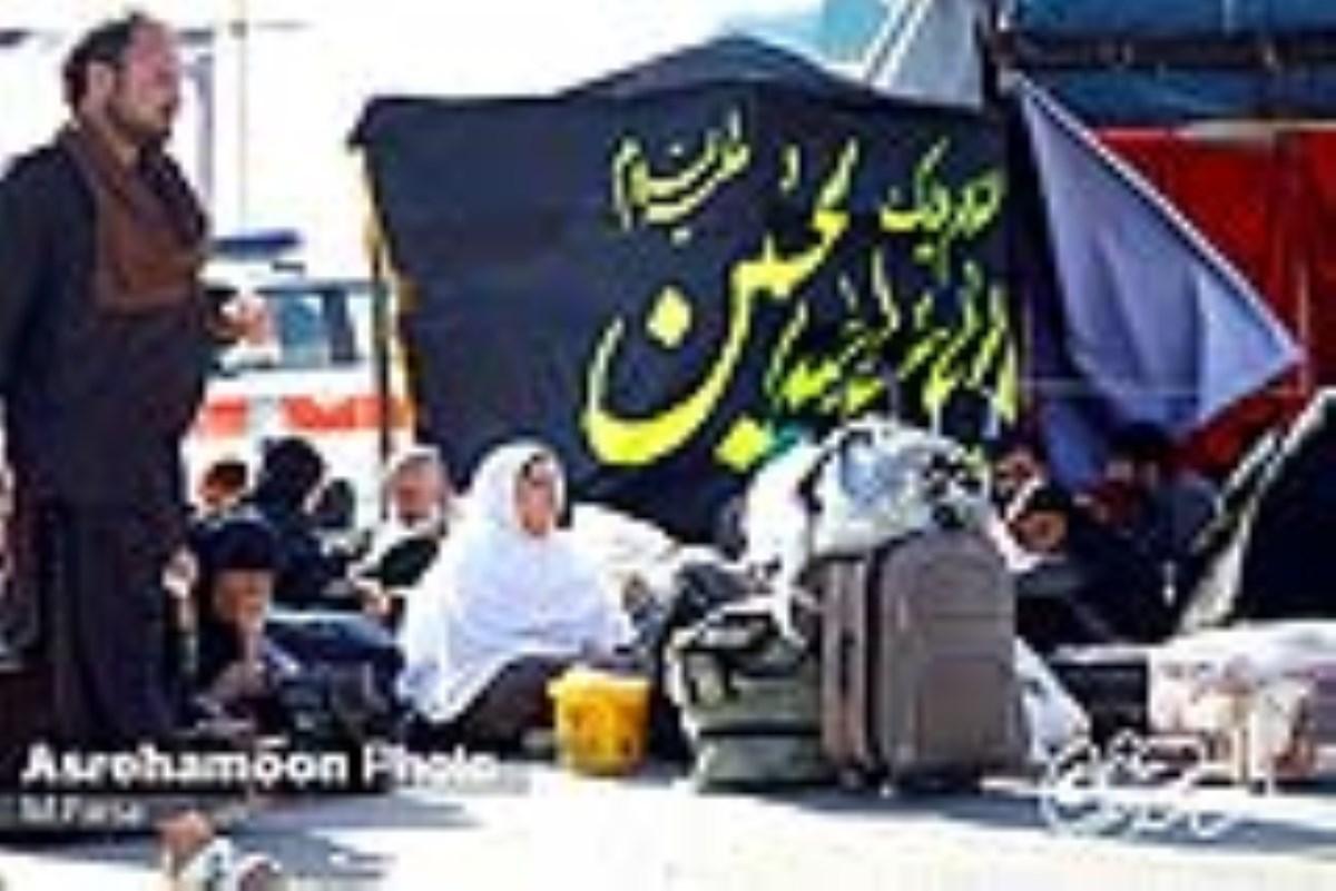 گزارش تصویری از موکب های اربعین حسینی در مرز میرجاوه / عشق به حسین مرز نمی شناسد