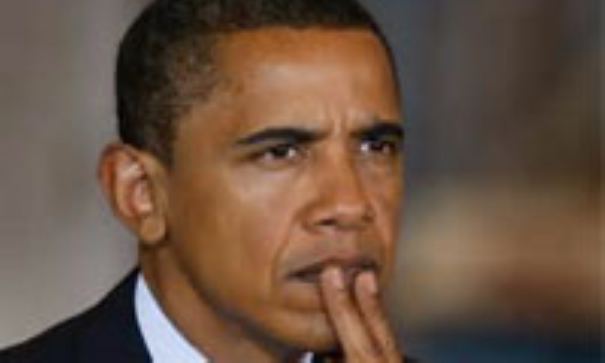باراک اوباما در گاو صندوق! +عکس