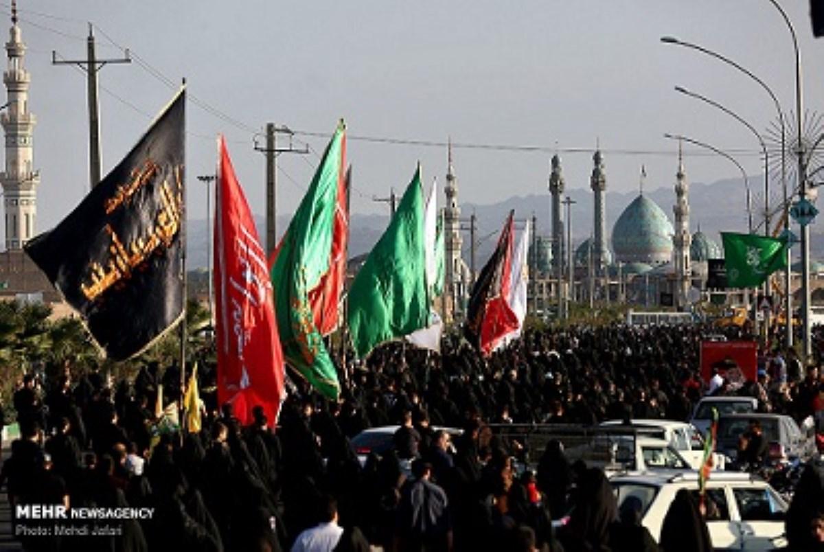 """گزارش تصویری از راهپیمایی بزرگ """"جاماندگان اربعین حسینی"""" در داخل و خارج از کشور"""