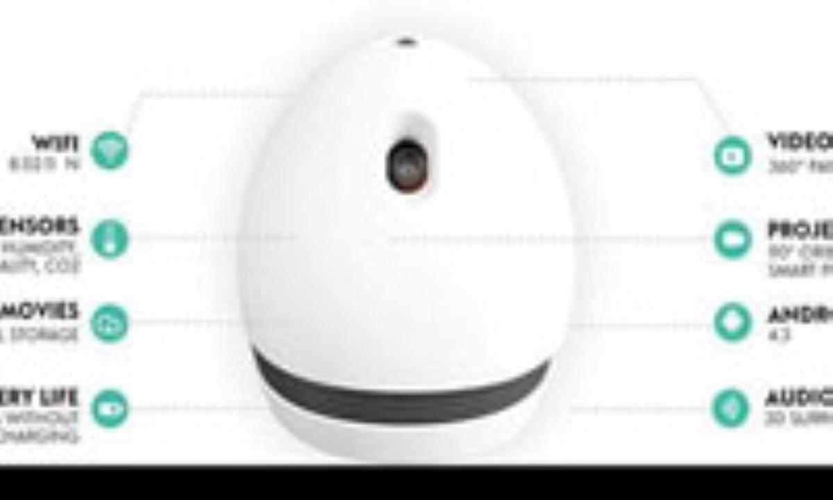 با این ربات همه خانه را به تلویزیون تبدیل کنید!