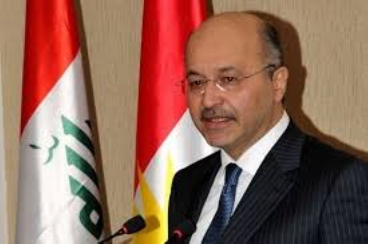 """""""برهم صالح"""" رئیس جمهور جدید عراق شد/ او کیست؟"""