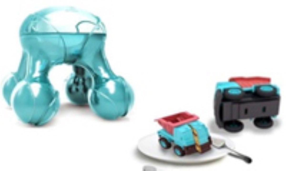 تولید غذا با اشکال دلخواه برای کودکان را به چاپگر سه بعدی بسپارید