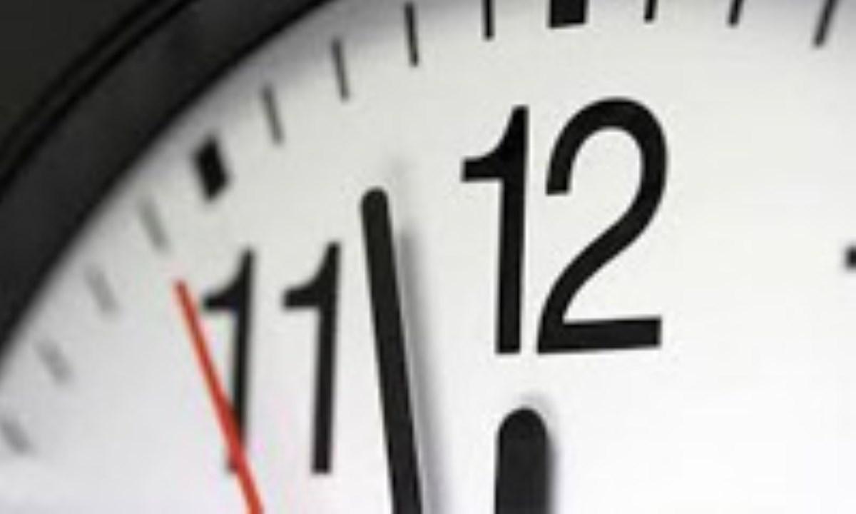 تغییر ساعت رسمی کشور از ساعت ۲۴ سیام شهریور