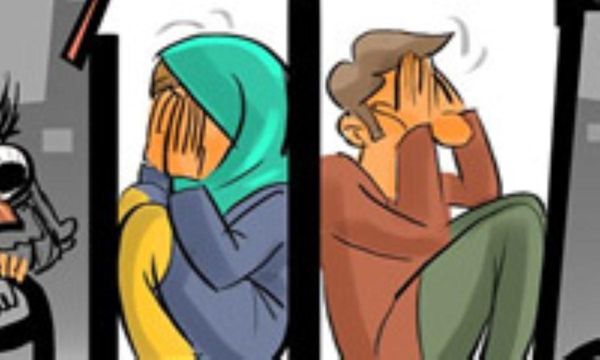 کاریکاتور / رواج پدیده «تنهازیستی» ایرانیان
