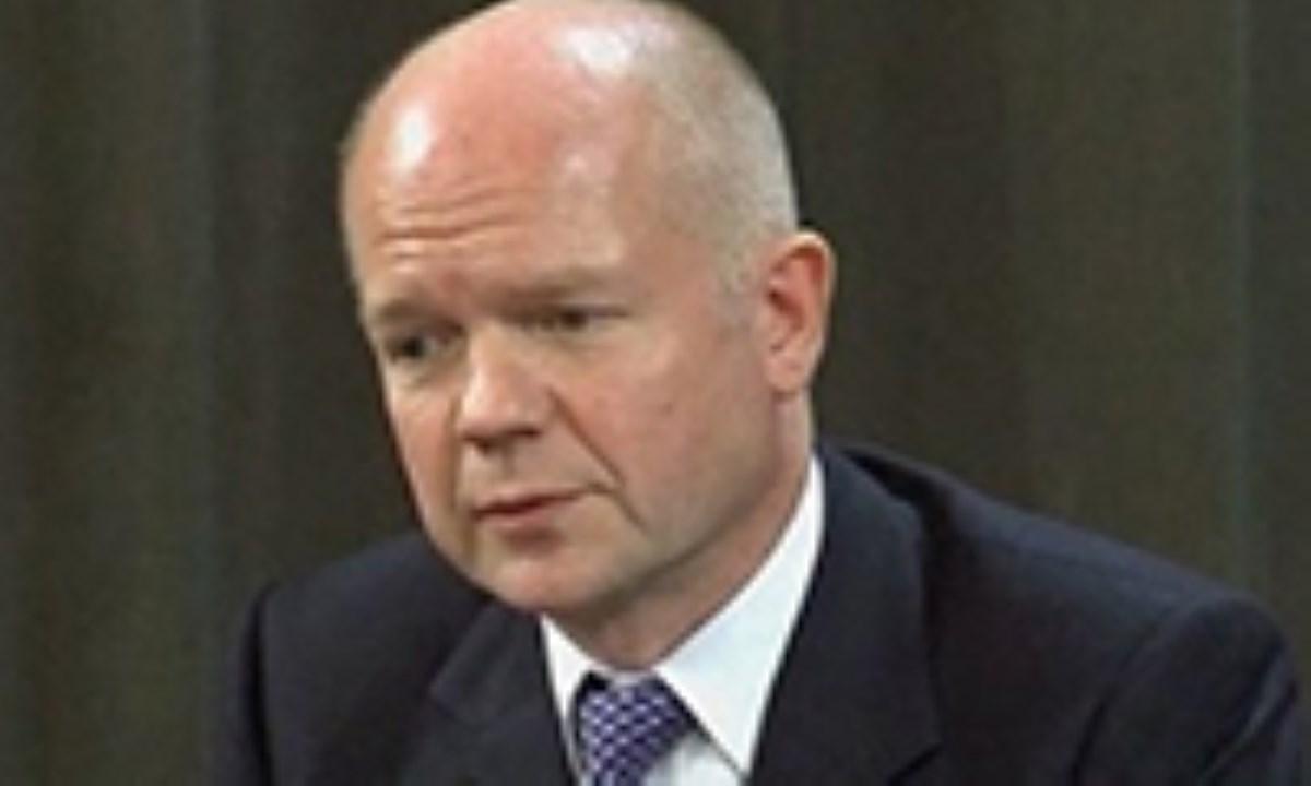 اعتراف وزیر خارجه انگلیس به دخالت در سوریه