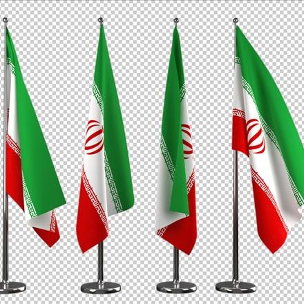 دانلود رایگان فایل لایه باز پرچم ایران