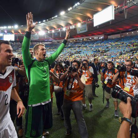 قهرمانی آلمان در جام جهانی 2014 برزیل