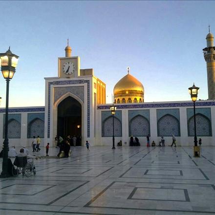 آستان مطهر حضرت زینب سلام الله علیها