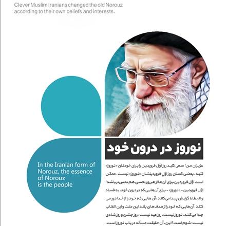 پوستر سخنان رهبری درباره نوروز