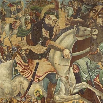 تصویرسازی رزم حضرت عباس علیه السلام