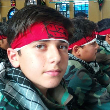 عکس دانش آموزان بسیجی