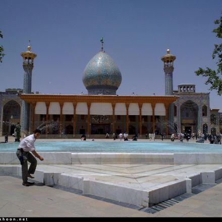 امامزاده سید احمد بن موسی الکاظم شاهچراغ عکاس جواد ایزدی