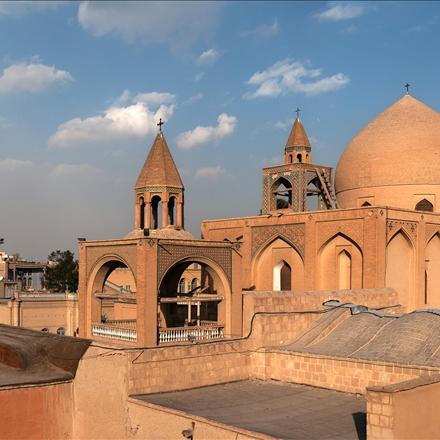 کلیسای وانک در نمایی از بالا