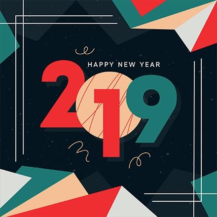 مجموعه طرح های ویژه کریسمس و آغاز سال 2019 میلادی