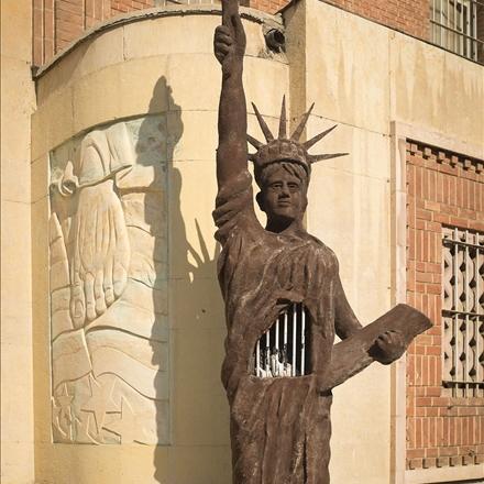 عکس مجسمه آزادی 13 آبان