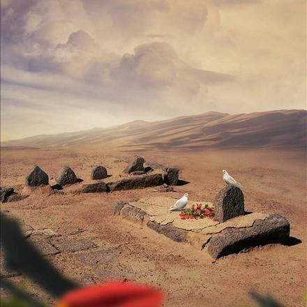 عکس قبور چهار امام معصوم علیهم السلام در بقیع