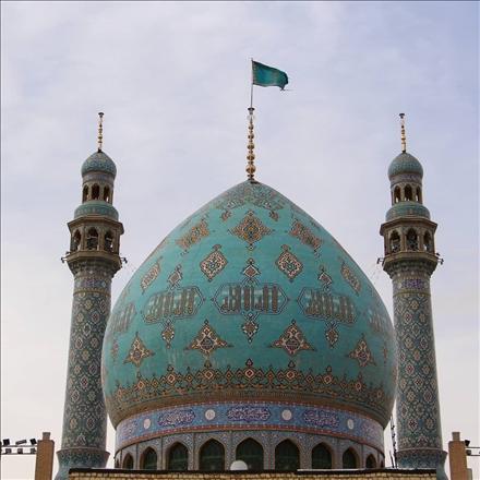 عکس گنبد مسجد مقدس جمکران