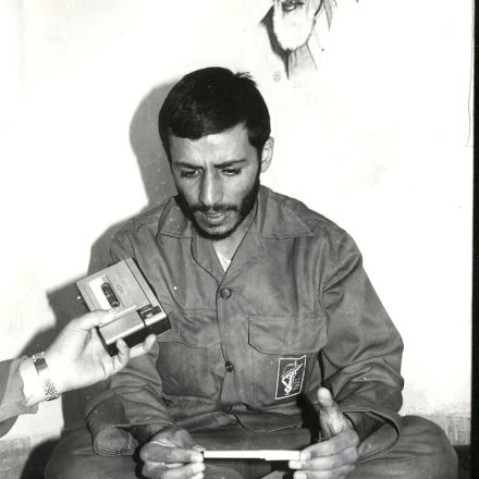عکس حاج ابراهیم همت