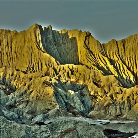تصویر کوههای مریخی در چابهار