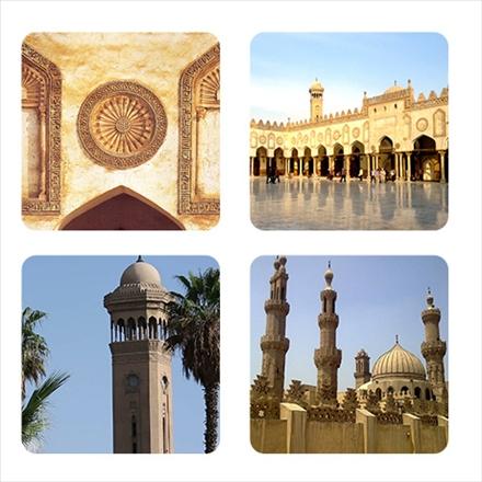 مجموعه تصاویر مسجد الازهر مصر
