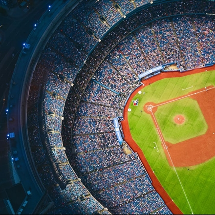 عکس استادیوم بیسبال