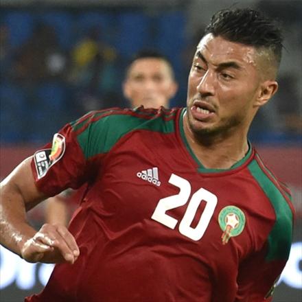 عزیز بوهادوز,بازیکن تیم ملی مراکش
