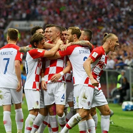تصاویر فینال جام جهانی 2018 روسیه/تیم ملی فرانسه و تیم کرواسی