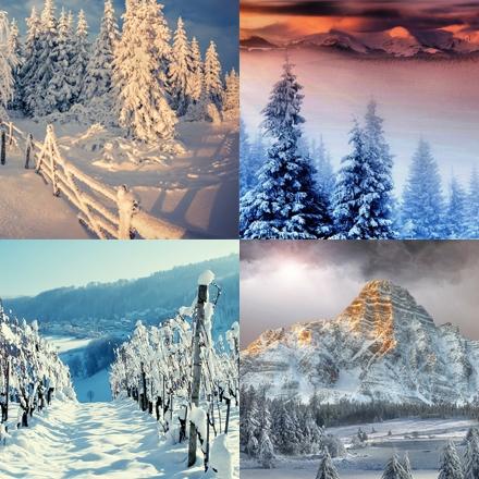 مجموعه تصاویر روزهای زمستانی