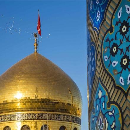 تصویری متفاوت ازگنبدحضرت زینب علیهاالسلام