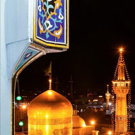 تصویرگنبدامام رضا