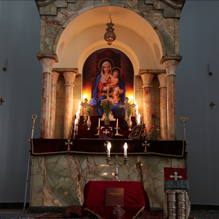 محراب کلیسای سرکیس مقدس