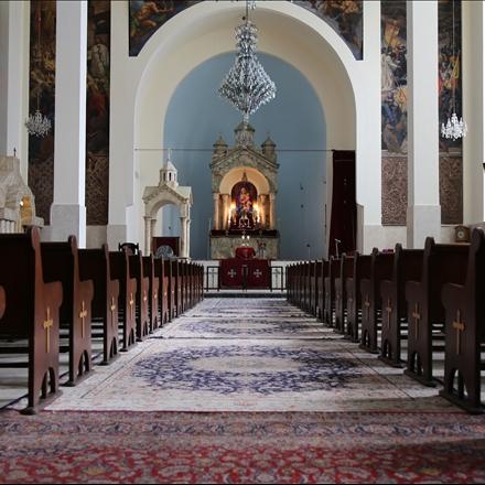 نمای داخلی کلیسای سرکیس مقدس