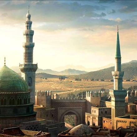 تصویرسازی حرم پیامبر گرامی اسلام صلی الله علیه و آله