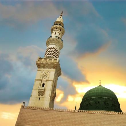عکس حرم پیامبر مکرم اسلام صلی الله علیه وسلم