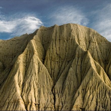 چشم اندازی از کوههای مینیاتوری چابهار