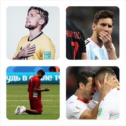تصاویر منتخب جام جهانی 2018 روسیه