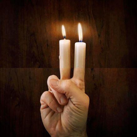 شمع دستی