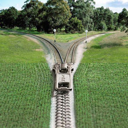 راه اهن با حال