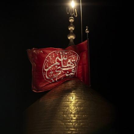 گنبد حرم مطهر حضرت عباس علیه السلام