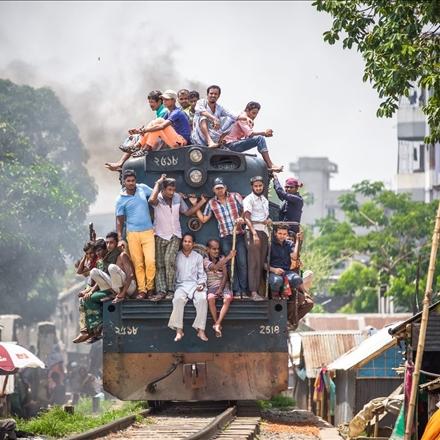 عکس قطار هندی