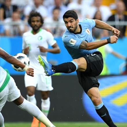 تصاویر منتخب بازی عربیتان و اروگوئه