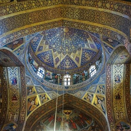 سقف کلیسای وانک