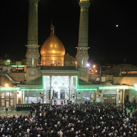 زائرین حرم مطهر حضرت عبدالعظیم علیه السلام