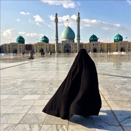 عکس آستان مسجد مقدس جمکران