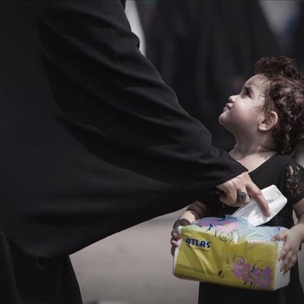 پیاده روی اربعین,پیاده روی زائران اربعین در راه حرم امام حسین