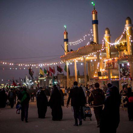 راهپیمایی عظیم زائران اربعین حسینی
