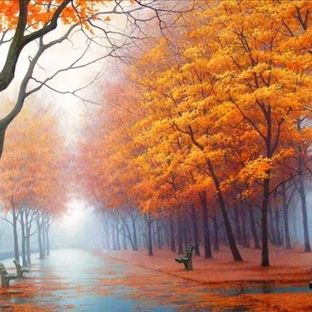 طبیعت زیبای پاییزی