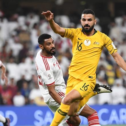دیدار امارات و استرالیا در جام ملتهای 2019